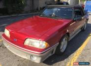 1993 Ford Mustang GT Convertible 2-Door for Sale