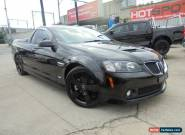 2009 Holden Ute VE MY10 SS V Black Manual 6sp M Utility for Sale