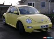 2000 Volkswagen Beetle 2.0 in Brilliant Yellow for Sale