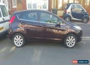 Ford Fiesta Automatic Burgandy/Red 1.4 5 Door Hatch - reliable and economic  for Sale