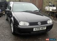 2001 VOLKSWAGEN GOLF 2.0 GTI  5 DOOR  ## SPARES OR REPAIR ## NO RESERVE AUCTION  for Sale