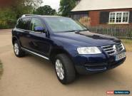 2005 VOLKSWAGEN TOUAREG 2.5 TDI SPORT AUTOMATIC DIESEL for Sale