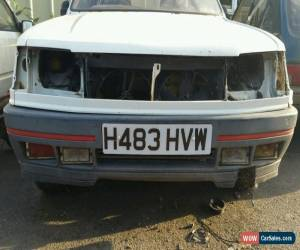 Classic  PEUGEOT 309 GTI WHITE 1990 H reg Ph2 3 door restoration Project for Sale
