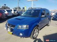 2008 Ford Territory SY Turbo (4x4) Blue Automatic 6sp A Wagon for Sale