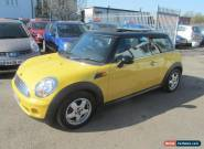 Mini Hatch Cooper 3dr PETROL MANUAL 2008/08 for Sale