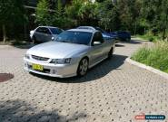 2004 Holden VY SS Ute Manual Series II for Sale