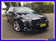 2011 Ford Falcon FG XR6 Blue Automatic A Sedan for Sale
