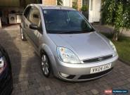 2004 FORD FIESTA ZETEC 1.4 SILVER LTD EDITION  for Sale