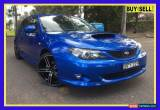 Classic 2008 Subaru Impreza G3 WRX Blue Manual M Hatchback for Sale