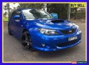 2008 Subaru Impreza G3 WRX Blue Manual M Hatchback for Sale