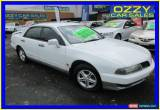 Classic 2000 Mitsubishi Magna TJ Solara White Automatic 4sp A Sedan for Sale