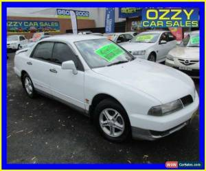 Classic 2000 Mitsubishi Magna TJ Solara White Automatic 4sp A Sedan for Sale