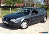 Classic 2000 VOLKSWAGEN GOLF 1.6 S 5 DOOR HATCHBACK for Sale