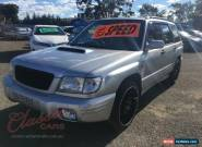 2002 Subaru Forester MY02 GT Silver Manual 5sp M Wagon for Sale