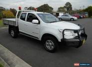2013 Holden Colorado RG LX (4x4) White Manual 5sp M Spacecab for Sale