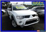 Classic 2009 Mitsubishi Triton ML MY09 GLX-R (4x4) White Automatic 4sp A for Sale