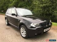 2006 56 BMW X3 2.0 M SPORT DIESEL 6 SPEED FULL LEATHER 12 MONTHS MOT NICE CAR for Sale