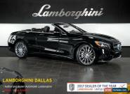 2017 Mercedes-Benz S-Class Base Convertible 2-Door for Sale
