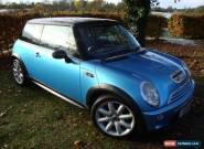 Mini 1.6 Cooper S 3 door Electric Blue Metallic CooperS Petrol Hatchback for Sale