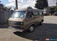 1985 Volkswagen Bus/Vanagon westfalia for Sale