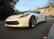2014 Chevrolet Corvette STINGRAY 2LT Z51 7-SPD NAV HUD for Sale