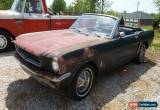 Classic 1965 Ford Mustang Black2p for Sale