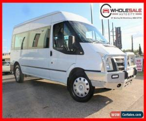 Classic 2007 Ford Transit VM Bus Mid Roof 12st 5dr Man 6sp, 2.4DT White Manual M Bus for Sale
