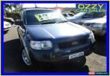 Classic 2001 Ford Escape BA XLS Blue Automatic 4sp A Wagon for Sale