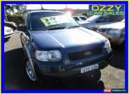 2001 Ford Escape BA XLS Blue Automatic 4sp A Wagon for Sale
