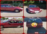 Burgundy Ford Focus Zetec estate car for Sale