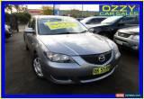 Classic 2004 Mazda 3 BK Neo Grey Manual 5sp M Sedan for Sale