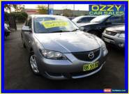 2004 Mazda 3 BK Neo Grey Manual 5sp M Sedan for Sale