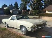 Chevrolet 1968 ElCamino 327 manual.Orig canopy chevelle camaro ute tonner monaro for Sale