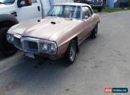 1969 Pontiac Firebird for Sale