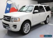2016 Ford Expedition Platinum Sport Utility 4-Door for Sale