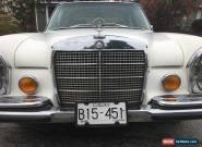1971 Mercedes-Benz 300-Series 300SEL 6.3 for Sale