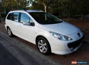 Peugeot 307 2.0L HDi 6 speed wagon diesel leather seats 2006 for Sale