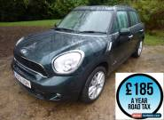 2013 Mini Countryman 2.0TD ALL4 Cooper SD Auto 5dr Hatchback Diesel for Sale
