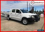 2009 Toyota Hilux KUN26R MY09 SR Cab Chassis Dual Cab 4dr Man 5sp, 4x4 955kg 3 for Sale