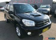 2005 Toyota RAV4 ACA23R CV (4x4) Black Automatic 4sp A Wagon for Sale