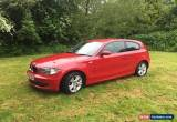 Classic BMW 1 series 118i se 3d auto in red for Sale