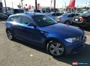 2008 BMW 118i E87 MY07 Upgrade Blue Automatic 6sp A Hatchback for Sale