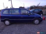 2003 VAUXHALL ZAFIRA 16V CLUB AUTO BLUE for Sale
