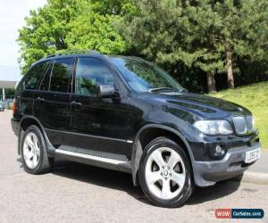 Classic 2005 BMW X5 SPORT 3.0 DIESEL BLACK FULL SERVICE HISTORY for Sale