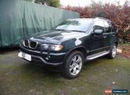 2003 BMW X5 SPORT 3.0 D DIESEL AUTOMATIC - SPARES OR REPAIR - WITH MOT & FSH for Sale