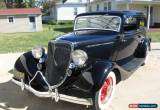 Classic 1934 Ford 2 Door Sedan for Sale
