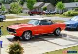 Classic 1969 Chevrolet Camaro Base Convertible 2-Door for Sale