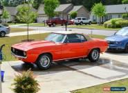 1969 Chevrolet Camaro Base Convertible 2-Door for Sale