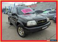 1999 Suzuki Grand Vitara SQ625 Type1 Special Edition Black Manual 5sp M Wagon for Sale