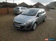 2012 VAUXHALL CORSA S AC SILVER . 5 DOOR HATCH .  for Sale